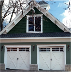 White Carriage Garage Doors