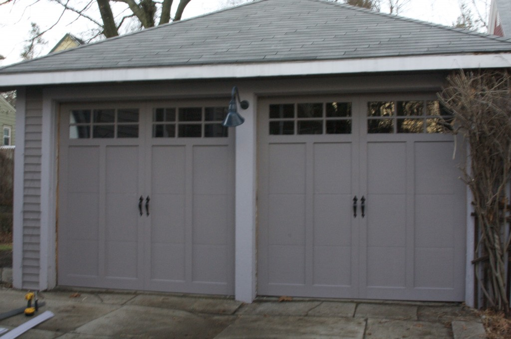 Beige Garage Doors