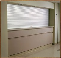 Counter Roll Up Window/Door