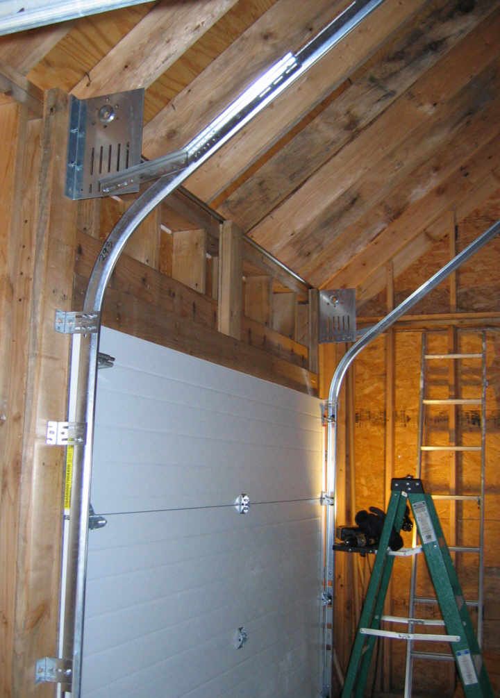 High Garage Door Lift