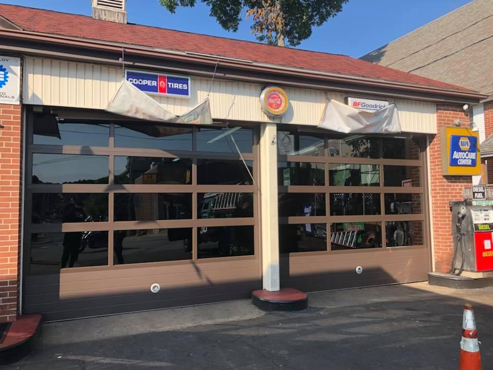 Commercia auto shop garage doors