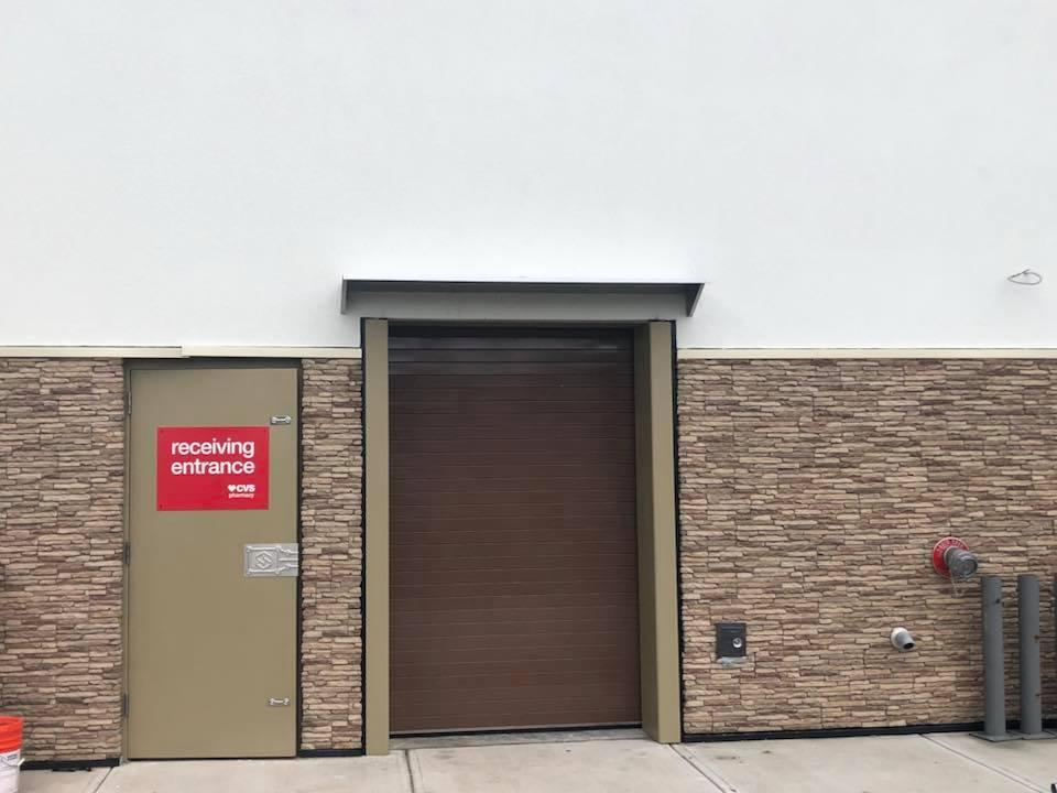 Commercial Rolling Garage Door