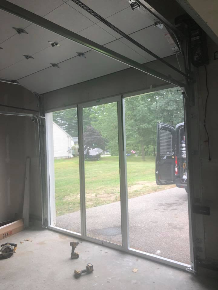 Garage Screen Door