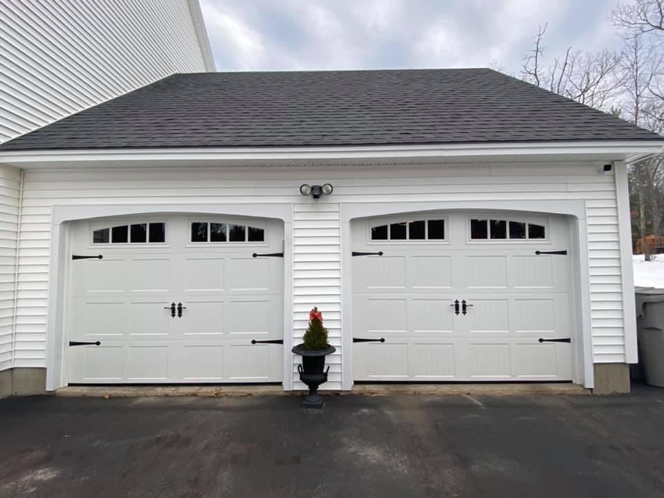 Garage Door on Residential Home